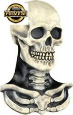FREE SHIPPING new Skull Mask Skeleton Chest Piece Halloween costume Adult scary