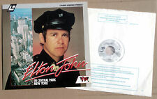 Elton John – In Central Park (1980) - uk LaserDisc - PAL , SECAM Top Zustand