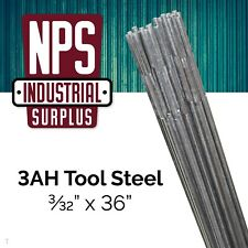 "* 1 LB *  3AH Tool Steel  TIG / FILLER Welding Rod  3/32"" x 36""  ST"