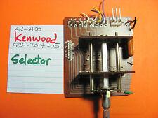 Kenwood 529-2014-05 Selector Pot Kr-3400 Stereo Receiver
