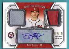 2012 Topps Museum Collection Danny Espinoza Game Jersey Patch Auto/179 Nationals