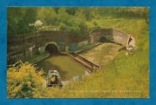 1970'S PC HARECASTLE TUNNEL, TRENT & MERSEY CANAL - SALMON PUBLISHED