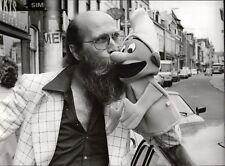 Vader Abraham with Smurf - Vintage Press Photo Photo Norbert Unfried (U-5977