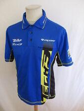 Chemise Grand Prix moto Dunlop ENI Bleu Taille L