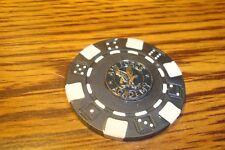 AIR FORCE ACADEMY Falcon Poker Chip,Golf Ball Marker,Card Guard Black/White