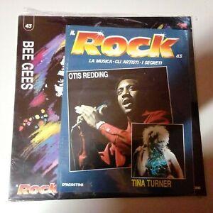 Disco Vinile 33 Giri DeAgostini Il Rock N°43 Bee Gees Nuovo