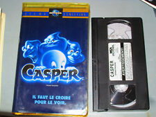 Casper: Le Film (VHS)(French) Christina Ricci, Bill Pullman Testé