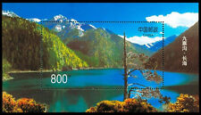 China Prc Sc# 2854 1998-6M Gully Jiuzhaigou S/S