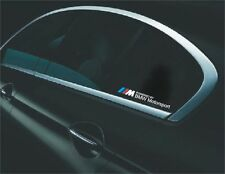 2x Powered By BMW /// M Motorsport Aufkleber  Sticker E90 E60 F20 F10 F01 E70 F3