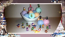 Super Mario Bros Toy inside Ball Bath Bombs - Lot of 6 Ultra Lush assorted scent