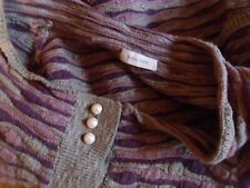 NOA NOA CROPPED CARDIGAN PEARL BUTTONS WOOL & COTTON L