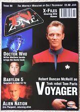 TV ZONE MAGAZINE 80 - ALIEN NATION - STAR TREK VOYAGER - BABYLON 5 - X-FILES