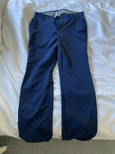 Mens Under Armour Navy Golf Trousers 34/34
