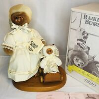 Robert Raikes Bears Charolette Toby Mothers Day Edition 1990 Vintage