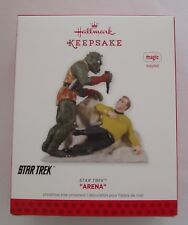 Hallmark 2013 Star Trek Arena Metrons Captain Kirk Magic Christmas Ornament