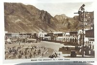 Vintage Yemen Aden postcard by M.Howard real photograph.