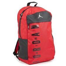 6254cbf5457eac NWT Nike Youth Air Jordan Jumpman Red Backpack Daybreaker Laptop Bag  9A1834-R78