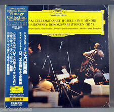 KARAJAN & BPO DVORAK:Cello Concerto ROSTROPOVICH UCCG-9516 JAPAN Mini LP CD Seal