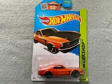 69 Ford Mustang Boss 302 HW Workshop    Hot Wheels