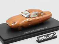 Autocult 1:43 Citroen 2CV Wood Tryane II, brown, Great Britain/France, 1969