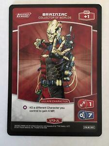 Meta X DC Justice League U73-JL Brainiac Trading Card Panini