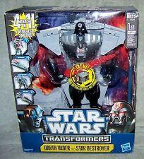 TRANSFORMERS 2011 STAR WARS DARTH VADER SET