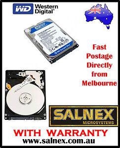 "WESTERN DIGITAL 250 GB 2.5"" SATA HARD DRIVE Notebook PC or Mac Model: WD2500BVT"