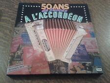 coffret 8 33 tours 50 ans de succes a l'accordeon