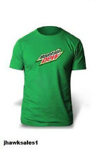 Mountain Dew Green T-Shirt - Heavyweight 100% Cotton - Preshrunk - (2XL) *NEW