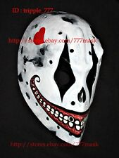 CUSTOM FIBERGLASS STREET DEK NHL ICE HOCKEY GOALIE HELMET FACE MASK joker HO53