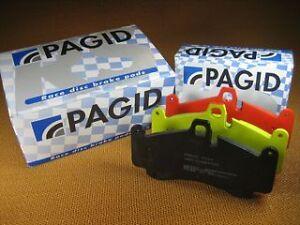 PAGID  RS4-4 PERFORMANCE FRONT BRAKE PADS GTR 350Z FERRARI 575 F512M 550 BREMBO