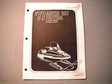 1977 Vintage Arctic Cat Pantera Parts Manual