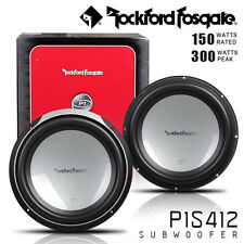 "BRAND NEW 2 X  Rockford Fosgate P1S412 Punch Stage 1 12"" 4-ohm subwoofer"