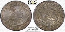 Poland (15)96 6 Groszy Groschen Malbork PCGS AU58 Mint Luster! Golden Tone!