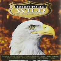 BORN TO BE WILD  CD  NEU   BLACK SABBATH/MOTÖRHEAD/RUSH/DEEP PURPLE/+