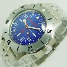 NEW AUTOMATIC RUSSIAN VOSTOK 350642 MILITARY WATCH!!! KOMANDIRSKIE K-35 24 HOUR