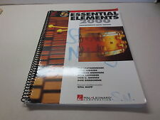 Essentials Elements 2000 Percussion Book 2 Two with Play Along CDs spiral bound