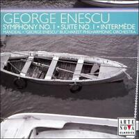 FREE US SHIP. on ANY 3+ CDs! ~Used,Good CD : George Enescu: Symphony No. 1; Suit