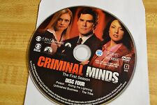Criminal Minds First Season 1 Disc 4 Replacement DVD Disc Only 47-103