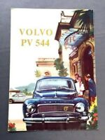 1959 Volvo PV544 PV 544 Original Vintage Car Sales Brochure Catalog