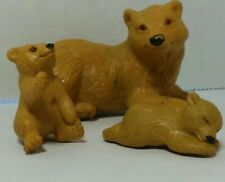 Mama Bear and Cubs Animal Figurine or Toy