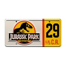 Jurassic Park Hammond's Jeep no.29 12x6 Metal Stamped License Plate Replica Prop