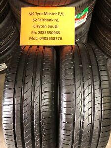 2 X 225 60 17 Pirelli Cinturato % 95 Tread .Fitting.Alignment Available,Freight