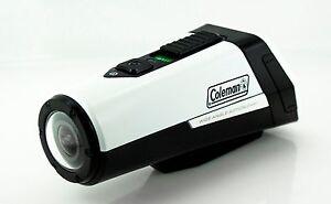 Coleman AktivSport CX9WP-W 1080p HD Action Sports Camera w/ GPS & Health Stats