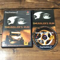 Smuggler's Run (Sony PlayStation 2, 2002)-Complete