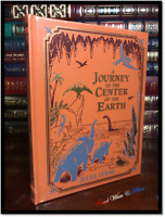 Journey to the Center of Earth Jules Verne New Sealed Leather Bound Gift Edition