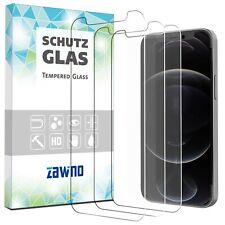 3x Panzerfolie iPhone 12 | Mini | Pro | Max Display Schutzglas Echt Hartglas 9H