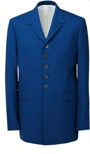Pretty Green Mens Beatles Yer Blues Single Breasted Blazer Blue Size 40