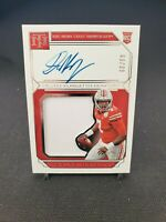 Dwayne Haskins RC 2019 National Treasures Collegiate Rookie Patch Auto 60/99
