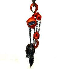 Elephant Chain Block 5 Ton 10 Ft Lift Chain C21-5 Heavy Duty Manual Chain Hoist